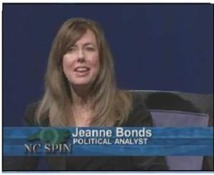 nc spin jeanne bonds analyst